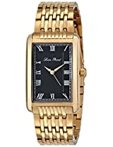 Lucien Piccard Men's LP-30010-YG-11 Avignon Analog Display Japanese Quartz Gold Watch