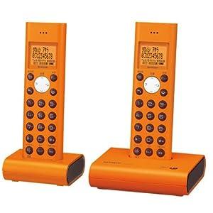 SHARP デジタルコードレス電話機 子機2台タイプ オレンジ系 JD-S05CW-D