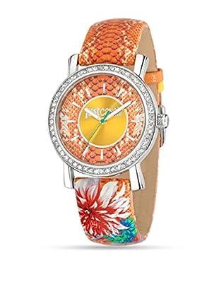 Just Cavalli Reloj de cuarzo Paradise Naranja 38 mm