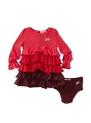 Juicy Baby 2-Piece Dress Set (Bright Berry Multi)