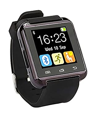 Bluetooth Smart Watch for iOS & Android, Black