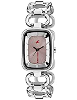 Fastrack Analog Pink Dial Women's Watch - 6120SM02