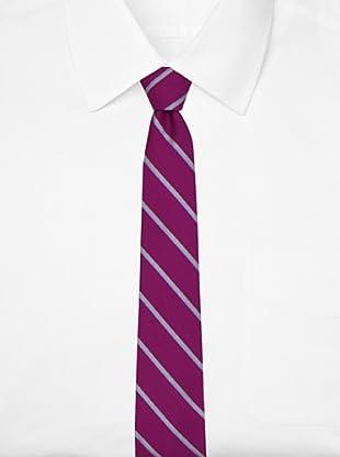 Ben Sherman Men's Arthur Stripe Tie, Pink