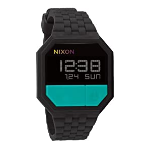 ニクソン]NIXON RUBBER RE-RUN: BLACK/TEAL NA1691060-00 ユニセックス