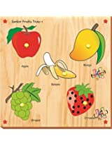 Kinder Creative-KCS-19-Junior Fruits with Knobs(Multicolour)