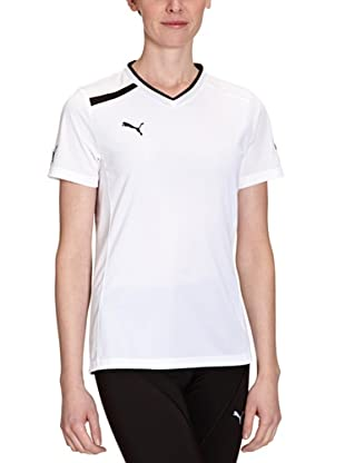 PUMA T-Shirt PowerCat Training (White/Black)