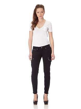 Antique Rivet Jeans Bailey (Black)
