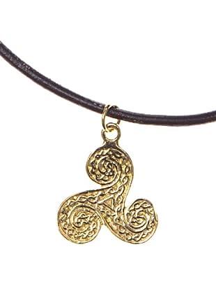 Córdoba Joyeros Gargantilla Amuleto Trisquel Oro