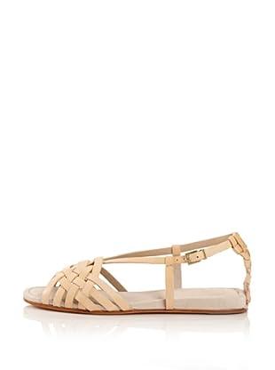 Modern Vintage Women's Shy Flat Sandal (sabbia)