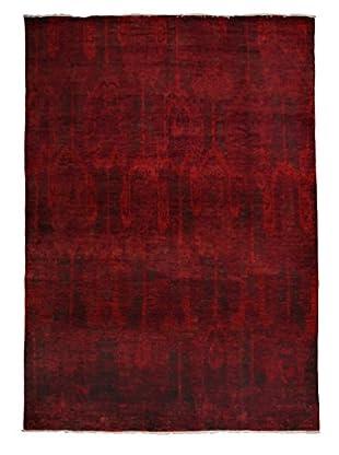 Darya Rugs Moroccan Oriental Rug, Red, 11' 10