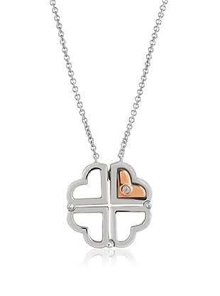 Divas Diamond Collar Divas Hearts Diamond Plata