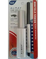 Almay One Coat Mascara Black 402 Bonus Eyeliner