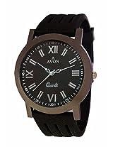 A Avon Formal Analog Black Dial Men's Watch - 1001708