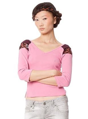 Custo Camiseta Rockets (Rosa)