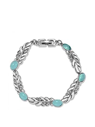 Saint Francis Crystals Armband Made with Swarovski® Elements silberfarben/türkis