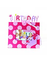 Mud Pie Bday Princess Autograph Frame (Discontinued by Manufacturer)