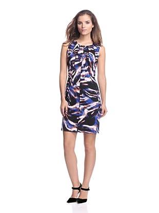 Calvin Klein Women's Printed Seamed Dress (Bittersweet/Celestial)