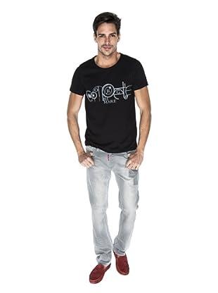 Giorgio Di Mare Camiseta Guisto (Negro)