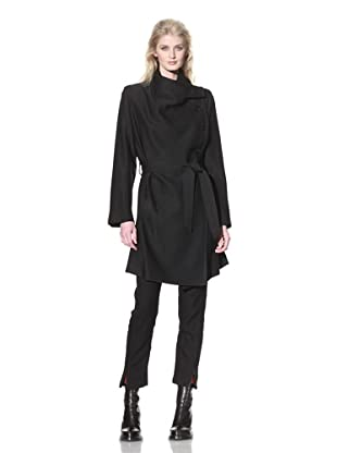 Ann Demeulemeester Women's Jude Coat (Black)