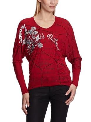 Desigual Camiseta 28T2556 (Rojo)