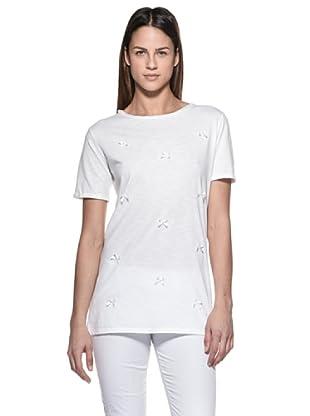 Crema Camiseta Lacitos (Blanco)