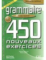 Grammaire 450 Nouveaux Exercises Intermediate