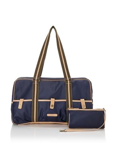 Carina Collection by Clava Women's Duffel Bag (Indigo)