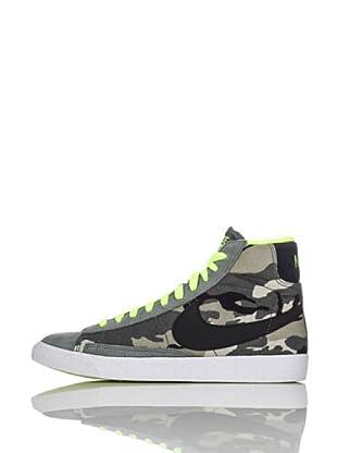 Nike Zapatillas Blazer Mid Vintage (Gs) (Verde Militar)