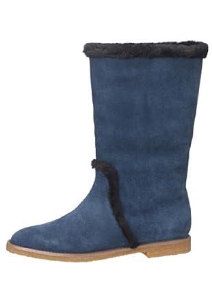 flip*flop taari 20540 - Botas de ante para mujer (Azul)