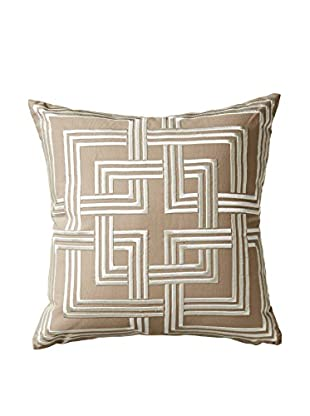 Happy Chic by Jonathan Adler Holly Geo Pillow, Natural/White