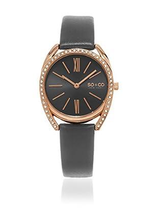 SO & CO New York Uhr mit japanischem Quarzuhrwerk Woman GP15898 34 mm