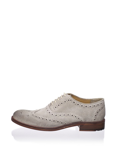 Ben Sherman Men's Qwey Brogue Oxford (Stone)
