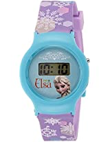 Disney Digital Blue Dial Girl's Watch - DW100473