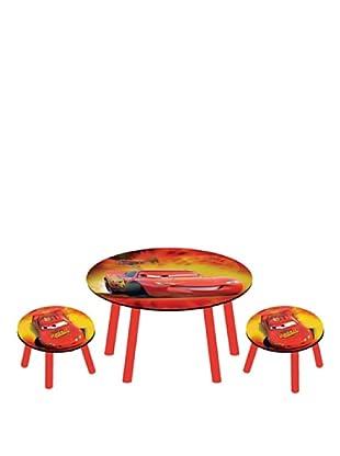 Set de Mesa y 2 Taburetes Cars