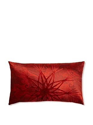 Aviva Stanoff Starburst with Paisley on Red on Velvet