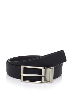 Calvin Klein Men's Reversible Leather Belt (Black/brown)