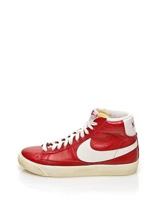 Nike Zapatillas Woman Blazer Mid Leather Vintage (Rojo)