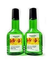 vaadi pack of 2 aromatherapy body oil-Lemongrass Oil & Lily Oil-50ml