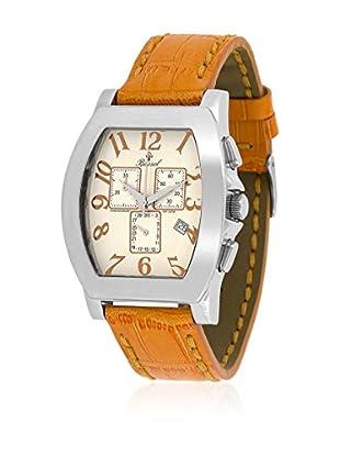 Bassel Uhr mit Schweizer Quarzuhrwerk 60115NA orange 40  mm