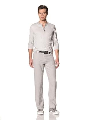 John Varvatos Star USA Men's Linen Authentic Pants (Concrete)