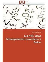 Les Ntic Dans L'Enseignement Secondaire a Dakar