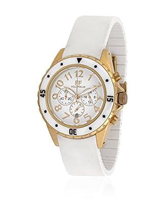 Folli Follie Uhr mit Miyota Uhrwerk WF8G031ZEW weiß