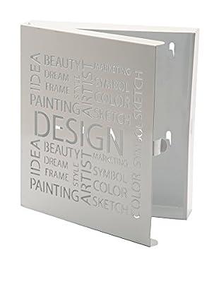 Mimma Schlüsselboard Design weiß