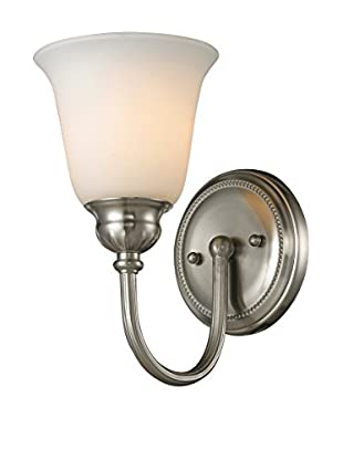 Artistic Lighting Ventura 1-Light LED Bath Bar, Brushed Nickel
