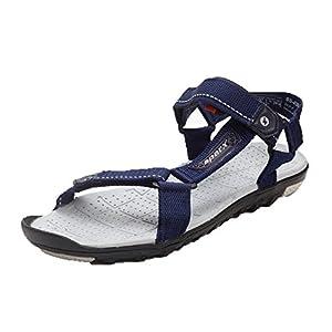 Sparx Men's Sandals & Floaters, Blue & Grey