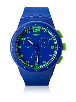 Swatch Quarzuhr Unisex Unisex BLUE C SUSN400 42.0 mm
