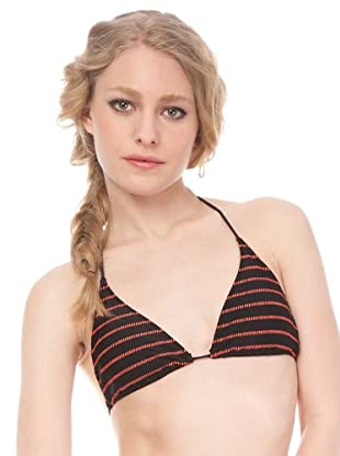 Springfield Bikini (Negro / Coral)