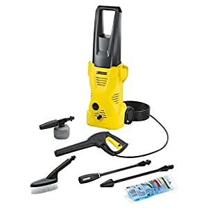 Karcher K2 Soccer Edition 110 Bar High Pressure Washer (Yellow and Black)