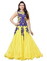 atisundar pretty Yellow embroidered Party Wear Anarkali- 6792_30_50014