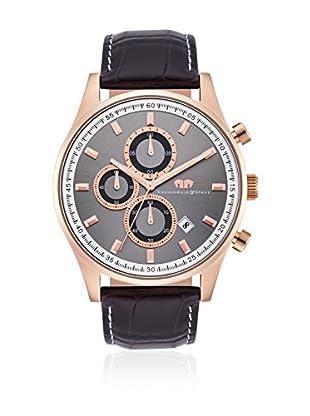 Rhodenwald & Söhne Reloj con movimiento cuarzo japonés  Negro 43  mm